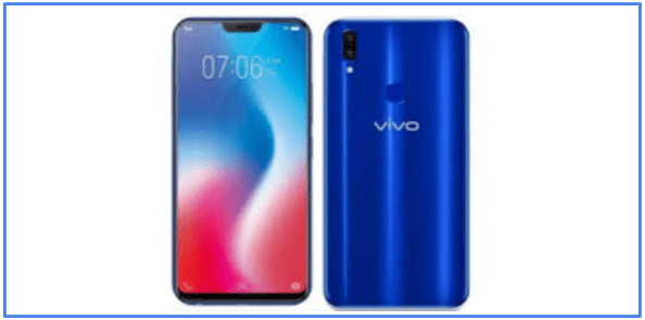 Esklusivitas Vivo V9 Cool Blue