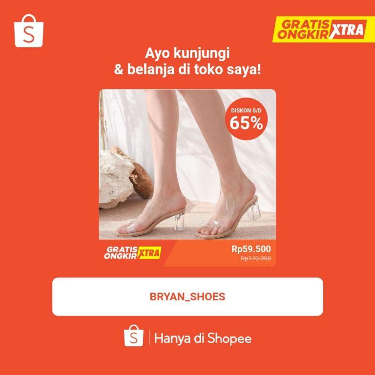 Toko Sepatu wanita berkualitas Bekasi Bogor harga terjangkau